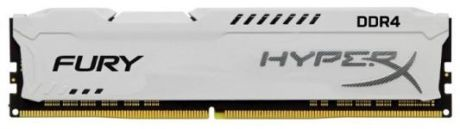 Оперативная память 16Gb (1x16Gb) PC4-23400 2933MHz DDR4 DIMM CL17 Kingston HyperX FURY White HX429C17FW/16