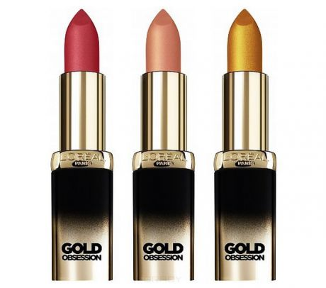 L'Oreal Помада для губ Color Riche Gold Obsession, 4,5 мл (5 оттенков), 4,5 мл