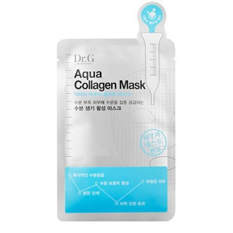 Тканевая маска для лица с коллагеном Dr.G Dr.G Aqua Collagen Mask 10 pcs