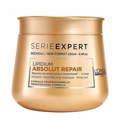 Питательная маска для волос L'oreal Professionnel Lipidium Absolut Repair Instant Resurfacing Masque 250ml