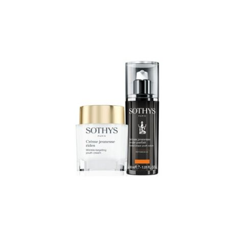 Sothys Набор: Youth Serum Perfect Shape 30 мл + Wrinkle-Targeting Youth Cream 50 мл