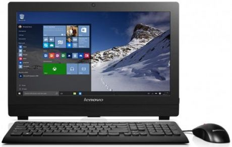 "Моноблок 19.5"" Lenovo S200z All-In-One 1600 x 900 Intel Pentium-J3710 4Gb 1Tb Intel HD Graphics 405 Windows 10 Professional черный 10K4002JRU"