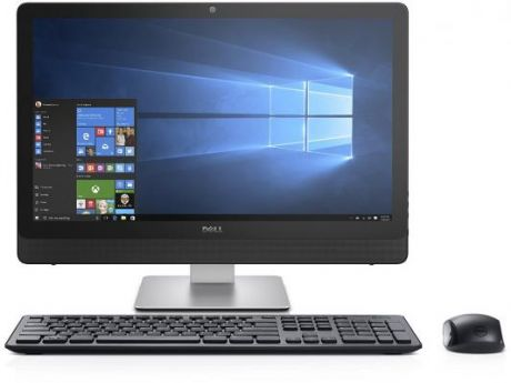 "Моноблок 23.8"" DELL Inspiron 3464 1920 x 1080 Intel Core i5-7200U 8Gb 1Tb nVidia GeForce GT 920МХ 2048 Мб Windows 10 Home черный 3464-9101"