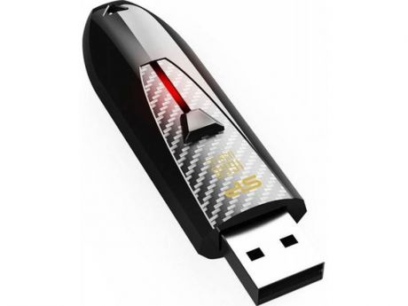 USB флешка Silicon Power Blaze B25 16GB Black (SP016GBUF3B25V1K) USB 2.0