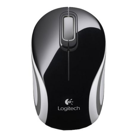 Мышь (910-002731) Logitech Wireless Mini Mouse M187, Black NEW