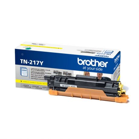 Картридж Brother TN217Y желтый (yellow) 2300 стр. для Brother HL-L3230CDW / DCP-L3550CDW / MFC-L3770CDW