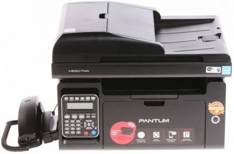 МФУ Pantum M6607NW монохромное/лазерное A4, 22 стр/мин, 150 листов + 50 листов, Fax, USB, Ethernet, WiFi, 256MB