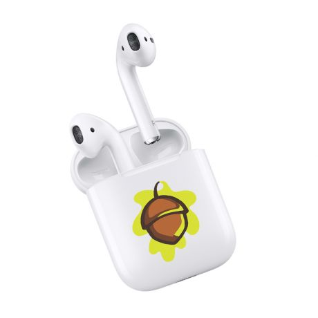 Нанесение логотипа на кейс Apple AirPods