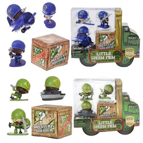ALGM 547457 Awesome Little Green Men 4 фигурки