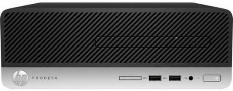 Системный блок HP ProDesk 400 G4 i5-7500 3.4GHz 4Gb 1Tb HD 630 DVD-RW Win10Pro клавиатура мышь серебристо-черный 1JJ79EA
